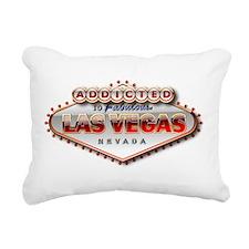 Vegas Addicted Rectangular Canvas Pillow