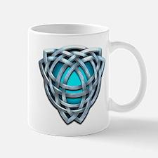 Naumadd's Silver Teal Triquetra Mug
