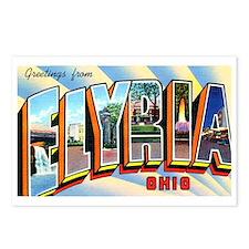 Elyria Ohio Greetings Postcards (Package of 8)