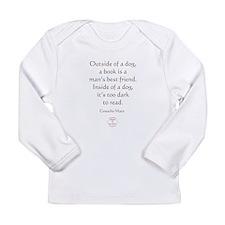 A MANS BEST FRIEND Long Sleeve Infant T-Shirt