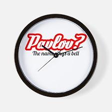 Pavlov? Wall Clock
