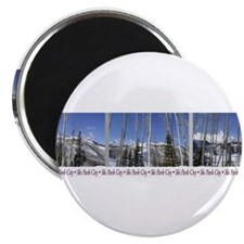 "Park City on top of Deer Vall 2.25"" Magnet (100 pa"