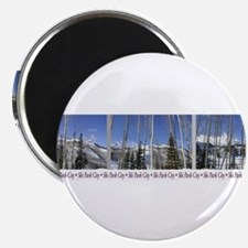 """Park City on top of Deer Vall 2.25"""" Magnet (100 pa"""