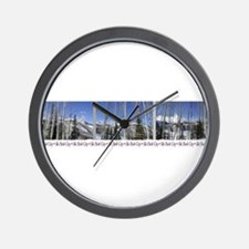 Park City on top of Deer Vall Wall Clock
