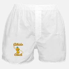 Aikido Chick #2 Boxer Shorts
