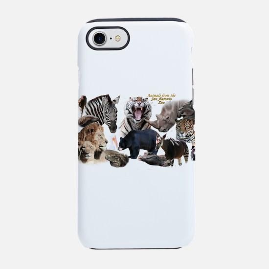 SA Zoo iPhone 7 Tough Case