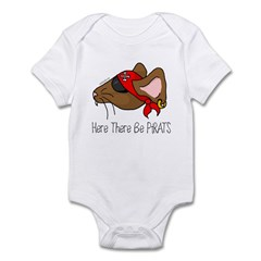Here There Be PiRATS Infant Creeper