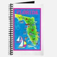 Florida Map Greetings Journal