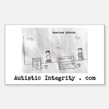 Autistic Integrity Decal