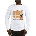 Lumbersnacks Cookie Long Sleeve T (white or grey)