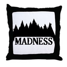 At The Mountains Of Madness Throw Pillow