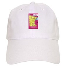Minnesota Map Greetings Baseball Cap