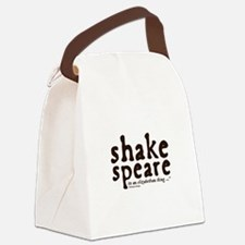 Shakespeare Canvas Lunch Bag