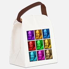 Shakespeare Pop Art Canvas Lunch Bag