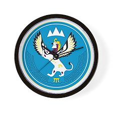 Altai Coat of Arms Wall Clock