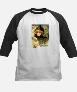 Robed Witch Kids Baseball Jersey