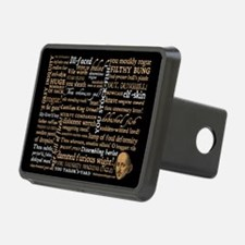 Shakespeare Insults Hitch Cover
