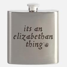 Elizabethan Thing (TM) Flask