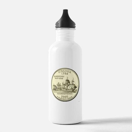 Virginia Quarter 2000 Basic Water Bottle