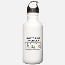 pick up chicks Water Bottle