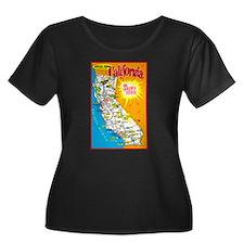 California Map Greetings T