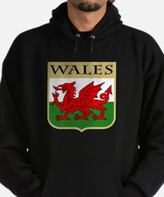 Wales Coat of Arms Hoodie (dark)