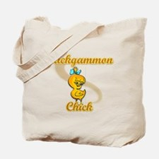 Backgammon Chick #2 Tote Bag