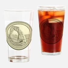 Utah Quarter 2014 Basic Drinking Glass