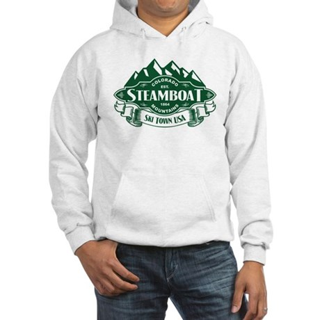Steamboat Mountain Emblem Hooded Sweatshirt