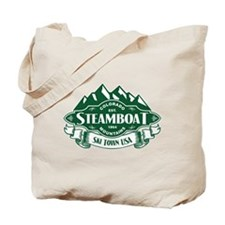Steamboat Mountain Emblem Tote Bag