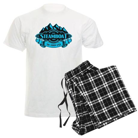 Steamboat Mountain Emblem Men's Light Pajamas