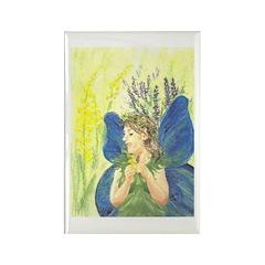Fairy Girl Rectangle Magnet