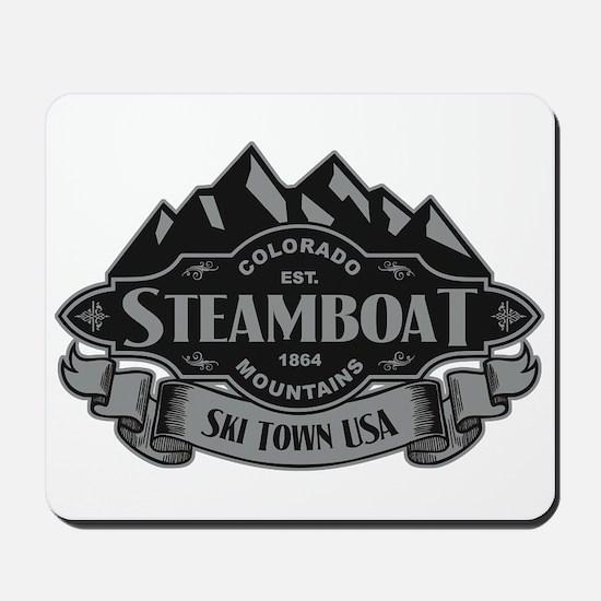 Steamboat Mountain Emblem Mousepad