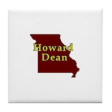 Howard dean Tile Coaster