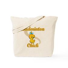 Badminton Chick #2 Tote Bag