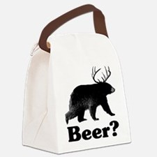 Beer? Canvas Lunch Bag