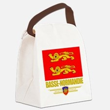 Basse-Normandie (Flag 10).png Canvas Lunch Bag