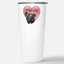 Pit Bull Lover Stainless Steel Travel Mug
