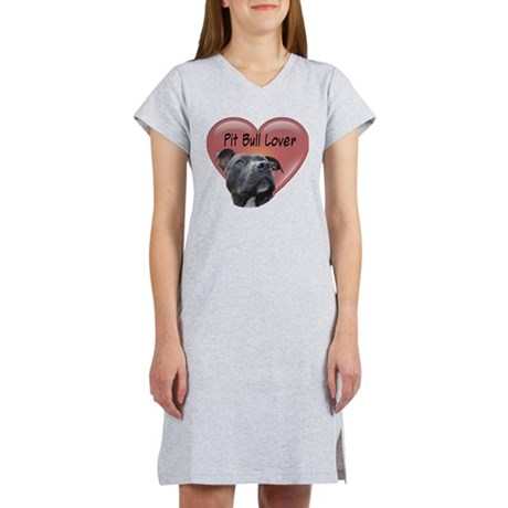 Pit Bull Lover Women's Nightshirt