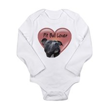 Pit Bull Lover Long Sleeve Infant Bodysuit