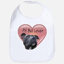 Pit Bull Lover Bib