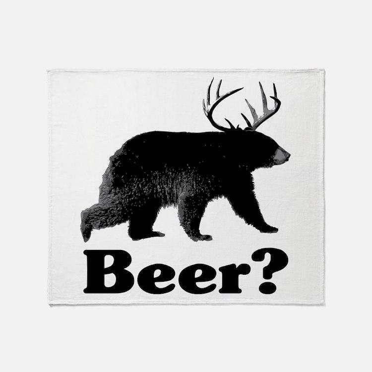 Beer? Throw Blanket