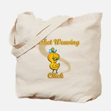 Basket Weaving Chick #2 Tote Bag