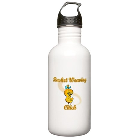 Basket Weaving Chick #2 Stainless Water Bottle 1.0