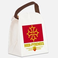 Midi-Pyrenees (Flag 10).png Canvas Lunch Bag