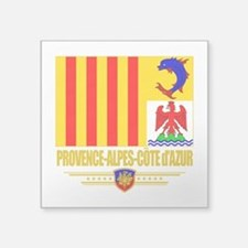 Provence-Alpes-Cote (Flag 10).png Square Sticker 3