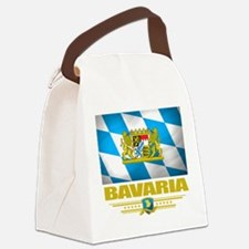 Bavaria (Flag 10).png Canvas Lunch Bag