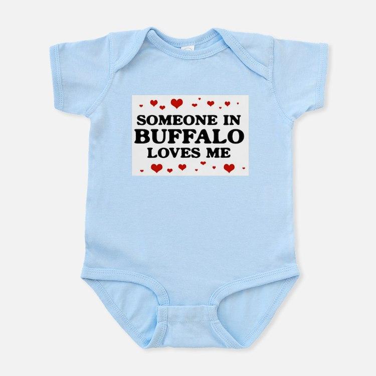Loves Me in Buffalo Body Suit