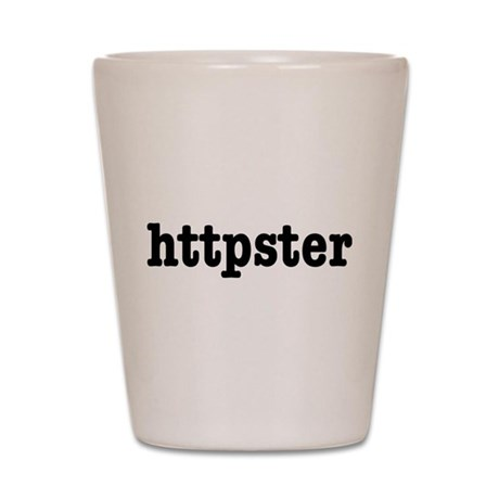 httpster Shot Glass