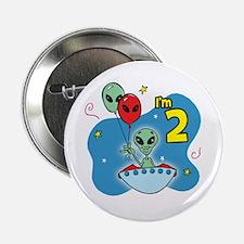UFO 2nd Birthday Button
